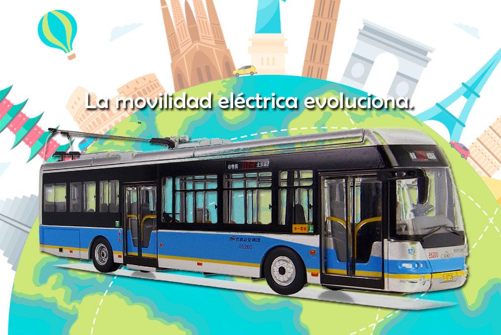 ¿Qué países en el mundo ya cuentan con Metrobús eléctrico?