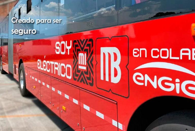 Conoce las medidas de seguridad para usar el Metrobús eléctrico