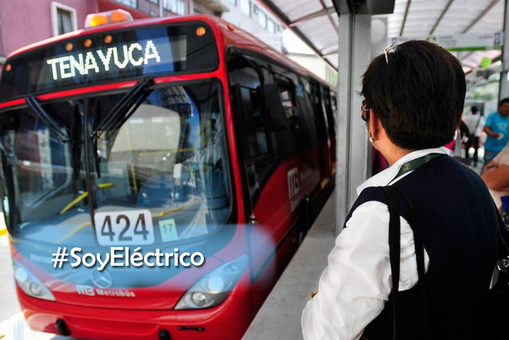 ¿Qué opina la gente sobre el nuevo metrobus Eléctrico?