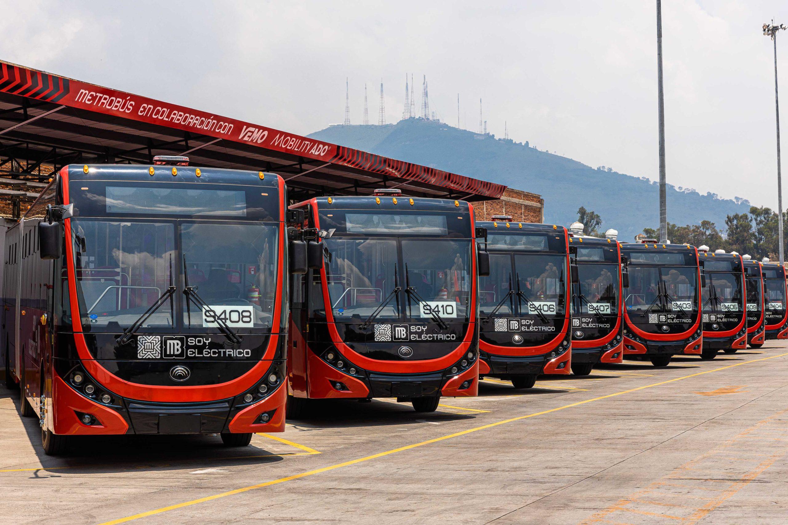 El Metrobús Eléctrico trae electromovilidad a la CDMX